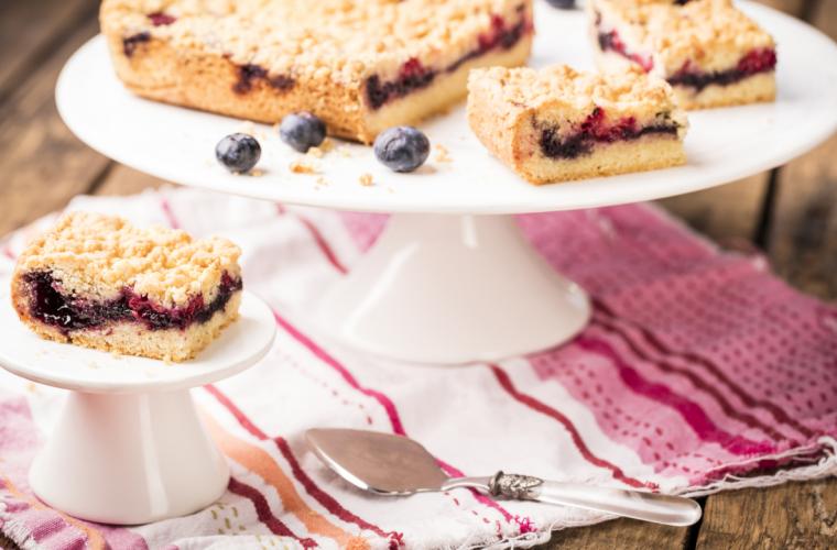Hero Blueberry Jam Shortbread